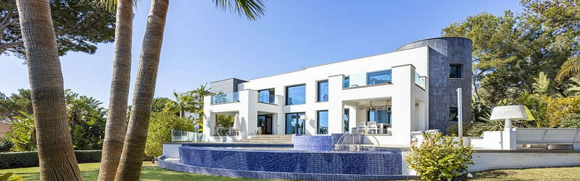 Cala Vinyes - Designer villa with sea view