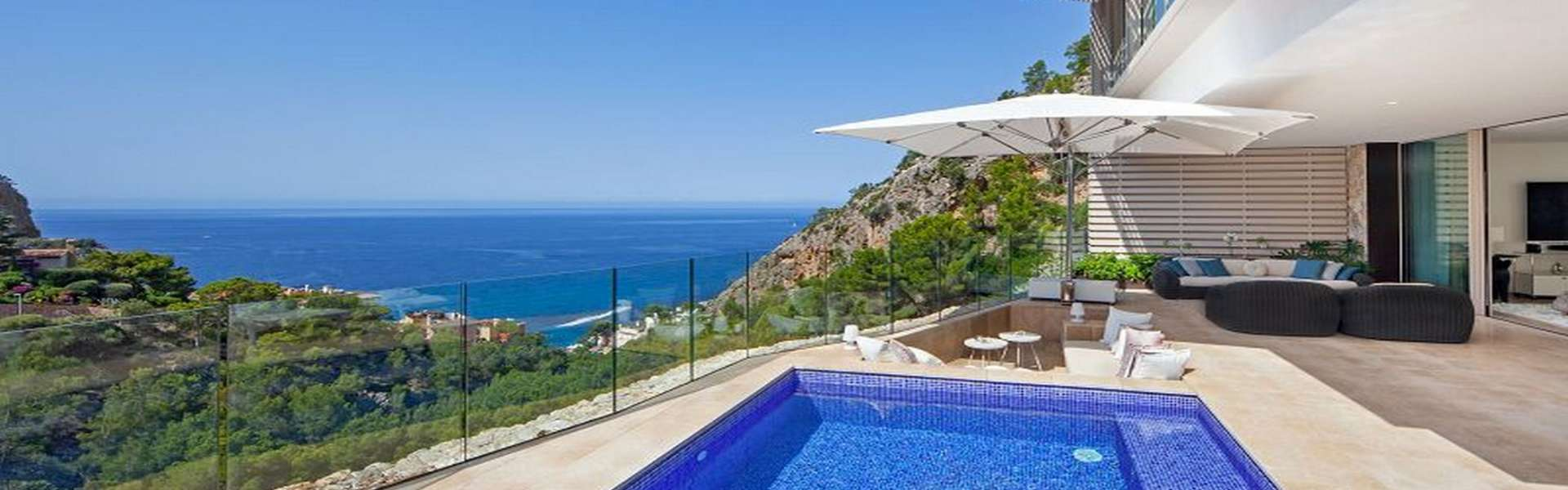 Port d'Andratx/Cala Llamp - Luxury semi-detached house in an exclusive complex