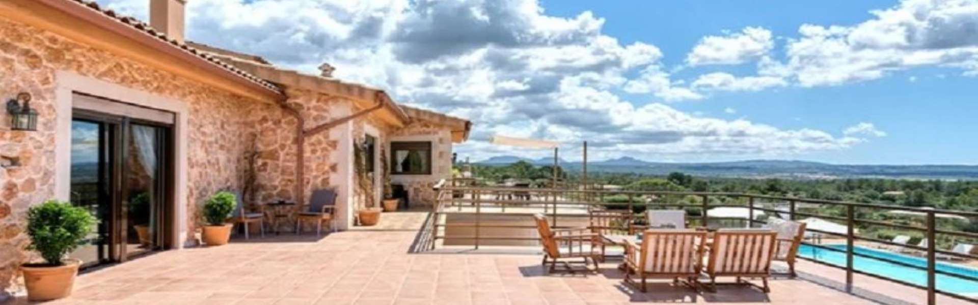 Palma/Es Puntiró - Finca with panoramic views and vacation rental license