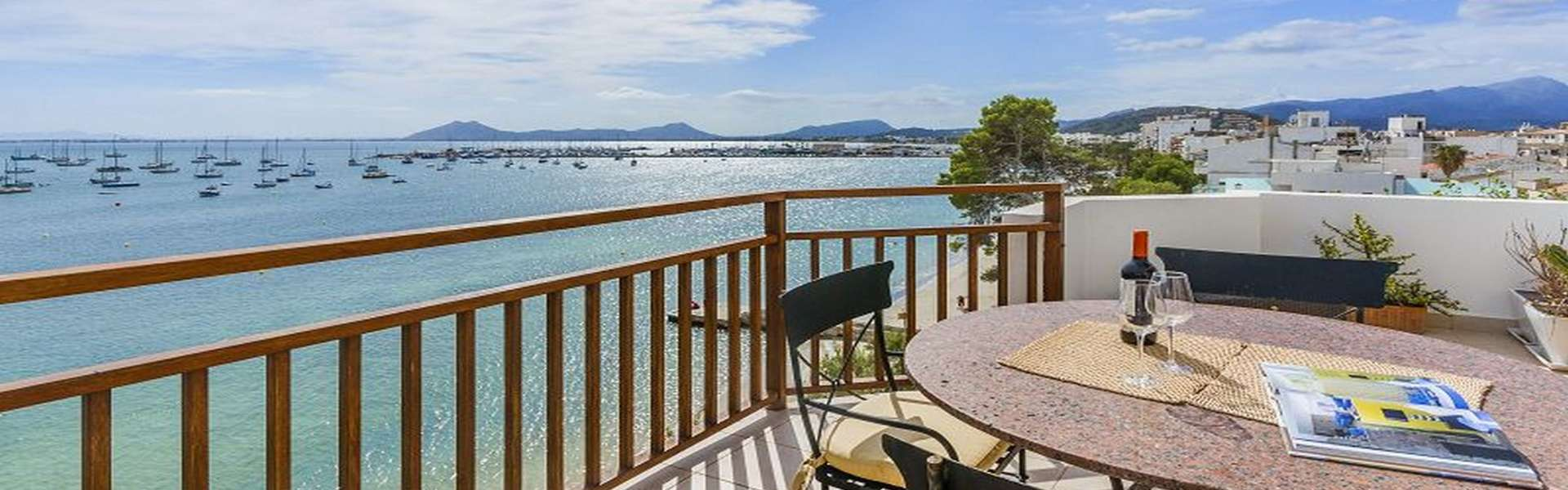 Puerto Pollensa - Luxury penthouse in first line