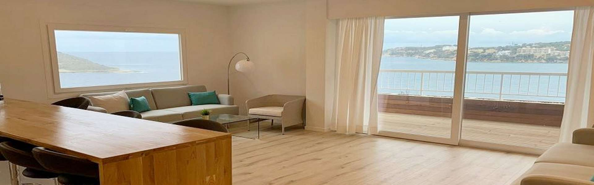 Calvia/Torrenova - Renovated apartment directly by the sea