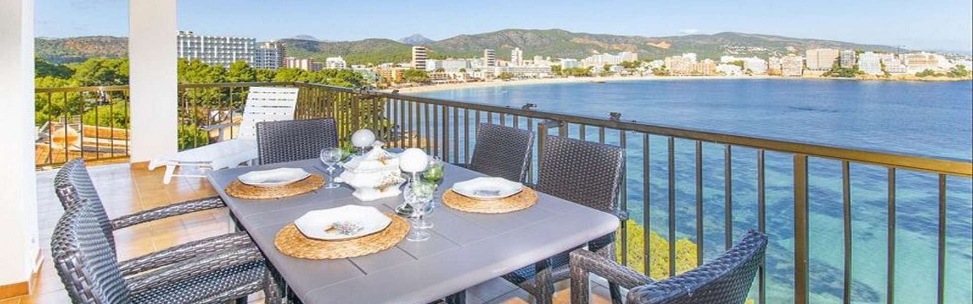 Cala Vinyes - Spectacular penthouse in first line