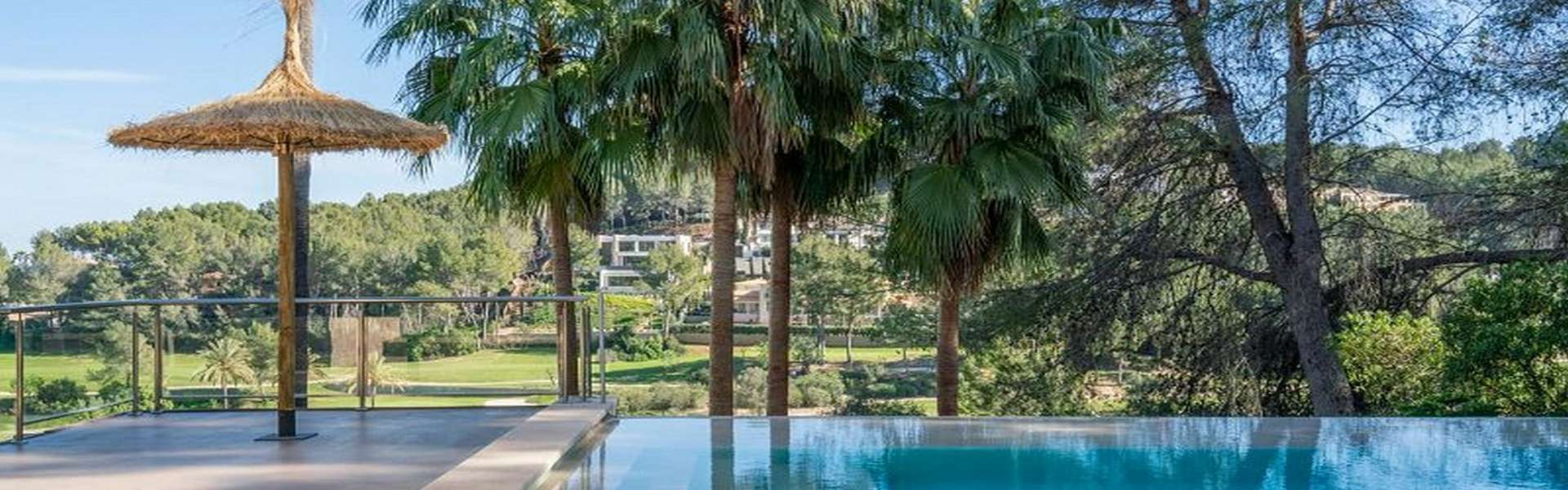 Palma/Son Vida - Fantastic villa with view to the golf course