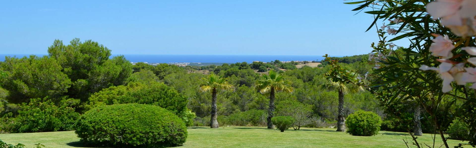 Vall d'Or - Finca with fantastic sea view