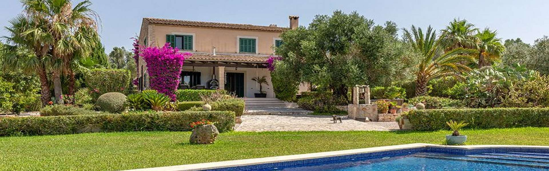 Fantastic finca with pool in Porreres